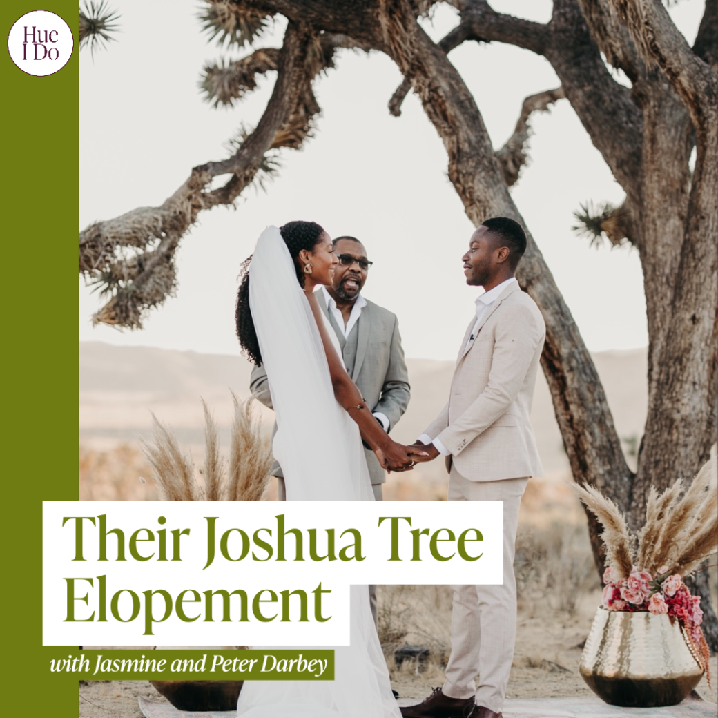 48. Their Joshua Tree Elopement