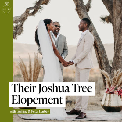 Their Joshua Tree Elopement