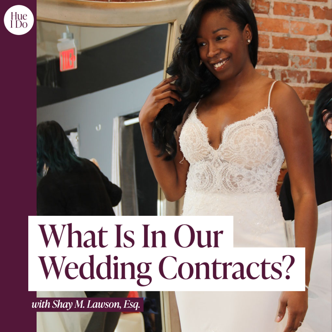 REWIND: 31. What Is In Our Wedding Contracts?