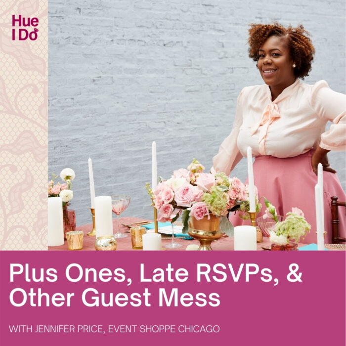 Plus Ones, Late RSVPs, & Other Guest Mess with Event Shoppe Chicago